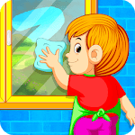 Kids Cleaning Games - My House Cleanup icon