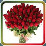Beautiful Flowers Bouquet Glit icon