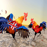 Farm Rooster Fighting Angry Chicks Ring Fighter 2 icon