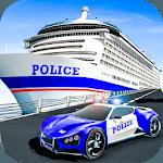 US Police Muscle Car Cargo Plane Flight Simulator icon