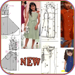 Kids Clothes Sewing Patterns icon