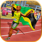 100 Meter Athletics Race - Sprint Olympics Sport icon