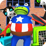 3D Fighting Frog Game Amazing Battle for pc logo