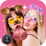 Live Face Sticker – Sweet Camera with Live Filter icon