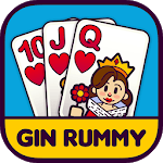 Gin Rummy Free! for pc logo