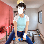 Fitness Girl Photo Montage icon