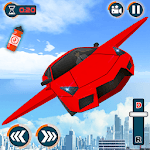 Flying car- Robot Transformation Car Driving icon