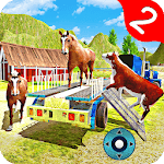 Dirt Road Farm Animal Transport Truck  2 icon