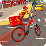 BMX Bicycle Pizza Delivery Boy 2019 icon