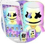 DJ Galaxy Cool Man Launcher Theme Live Wallpapers icon