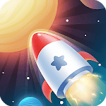 Idle Rocket - Aircraft Evolution & Space Battle for pc logo