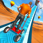Happy Auto Wheels: Vertical Mega Ramp GT Stunts icon
