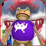 Frog Battle amazing vs shark  :simulation icon