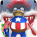 Amazing Frog vs Shark Game Simulator icon