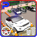 Suv police car parking: advance parking game 2018 icon