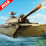 Army Tank Battle War On Water : Armoured Vehicle for pc logo