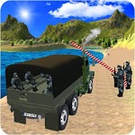 Real Drive Army Check Post Truck Transporter icon