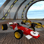 Formula Car Racing : Police Chase icon