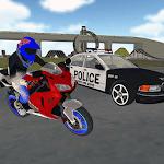 Motocross Simulator Police Chase icon