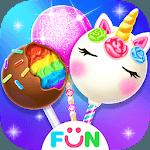 Unicorn Cake Pop Maker–Baking Games icon