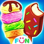 Ice Cream& Ice Popsicle Mania - Ice Dessert Maker for pc logo