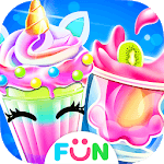 Ice Cream Milkshake Maker – Unicorn Food Cook Game icon