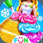 Princess Cake Salon Maker-Frost Cakes for pc logo
