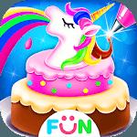 Unicorn Food-Children Rainbow Cake Bakery icon