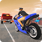 Crime Police Bike Chase - Moto City Rider 2019 for pc logo