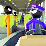 Prison Stickman Transport Police Van icon