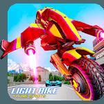 Light Bike Flying Stunts icon