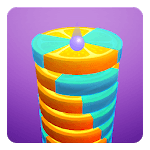Stack Ball - Fruit Crush icon