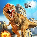 Angry😡Mad Dinosaur Simulator 2018 :Dinosaur Games icon