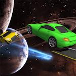 Galaxy stunt racing Game 3D icon