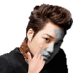 KPOP Idols Color by Number Pixel Art Coloring Game icon