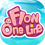 Flow - One Line Puzzle Game icon