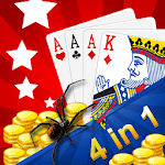 Solitaire Blast (4 in 1) for pc logo