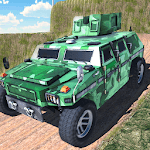 Offroad Jeep Army SUV Mountain Driving Adventure icon