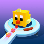 Fire Cubes 3D icon