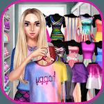 Rainbow Girls Dress Up icon
