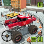 Monster Truck Parking Crash Simulator icon
