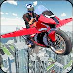 Futuristic Flying Bike Game icon