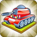 Merge Tanks - Best Idle Merge Game icon