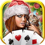 Christmas Solitaire: Santa Holiday Fun icon