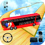 Impossible Bus Driver Sky Tracks icon