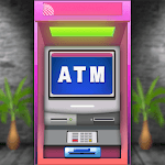 ATM Simulator Virtual Bank Cashier Free Kids Game icon