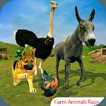 Farm Animal Racing 3D icon