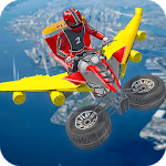 Flying ATV City Pizza Delivery icon