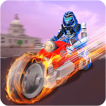 US Police Robot Speed Hero Crime Bike Rider icon