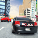 Highway Police Car Chase: City Driving Simulator icon